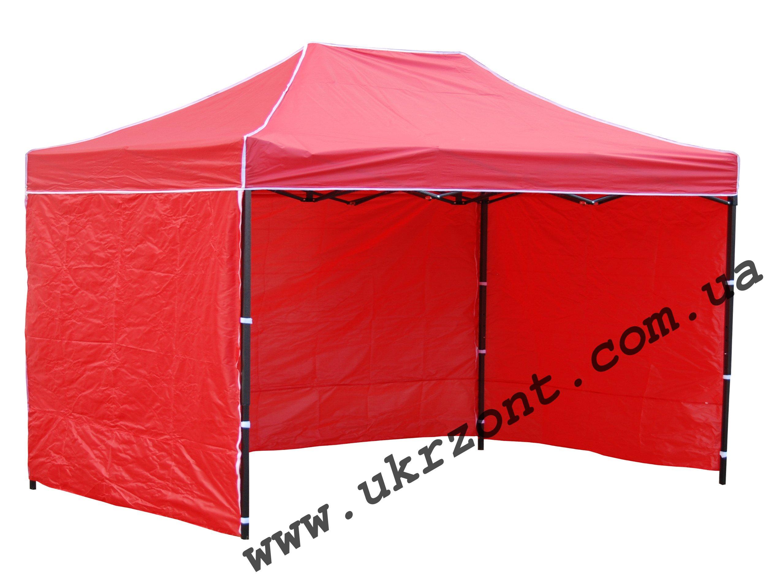 шатер 2х3м красный